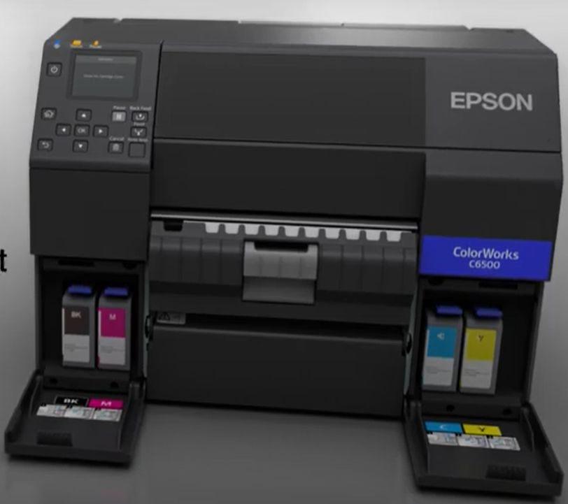 EPSON CW-C6500 et CW-C6000