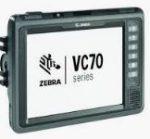 Terminal embarqué Zebra VC70N0 avec option Clavier Azerty (WEC7)