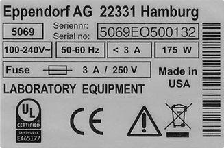 Étiquettes durables et plaques de firme