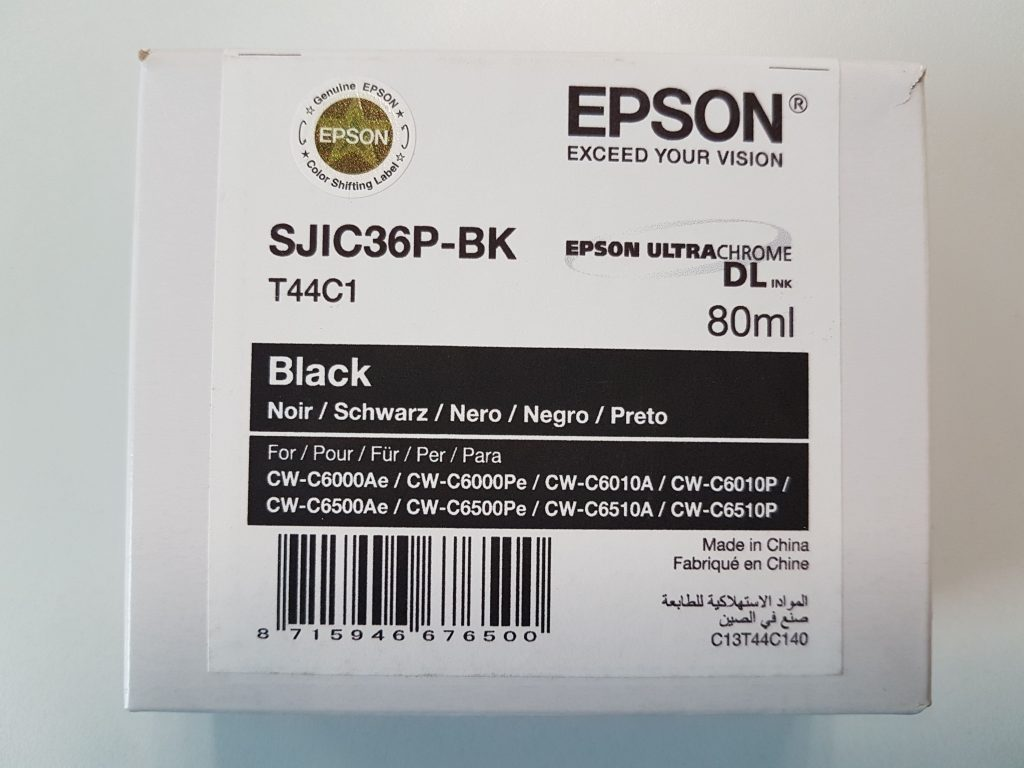 Encres Jet d'encre EPSON TM-C6500 Series