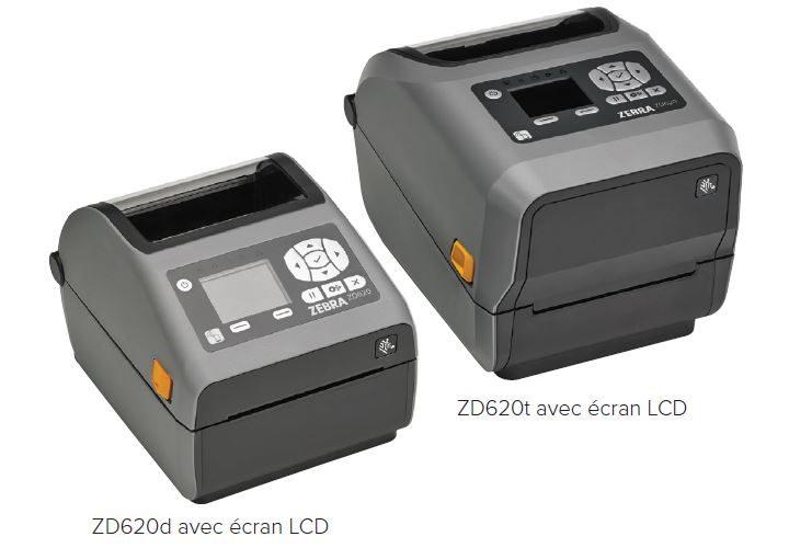 ZEBRA ZD620T et ZD620D (existe en version blanche Healthcare pour l'industrie de la santé)