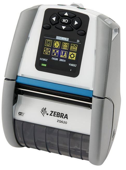 ZEBRA ZQ620 / ZQ610 Healthcare avec écran couleurs ( Version Anti-Microbienne )