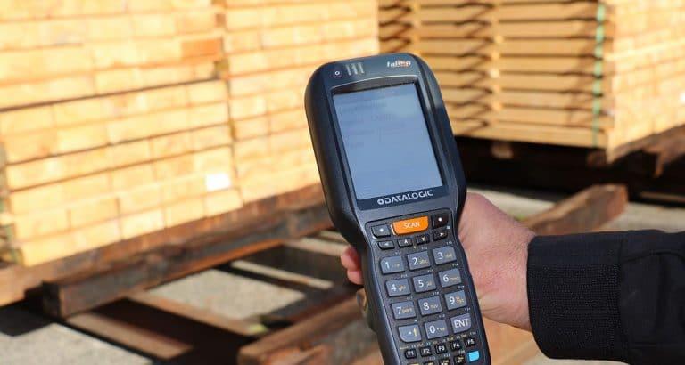 La solution Datalogic pour scanner à distance chez Piveteau Bois