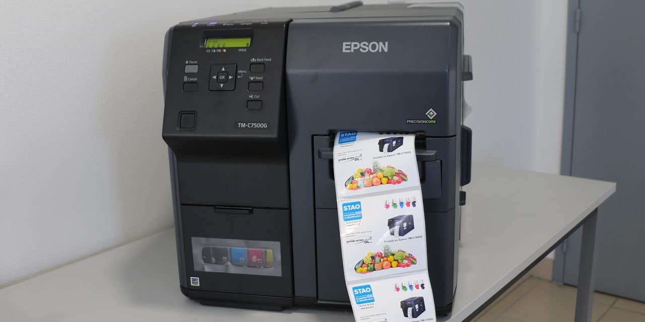 Test de l'imprimante couleur Espon 7500 G