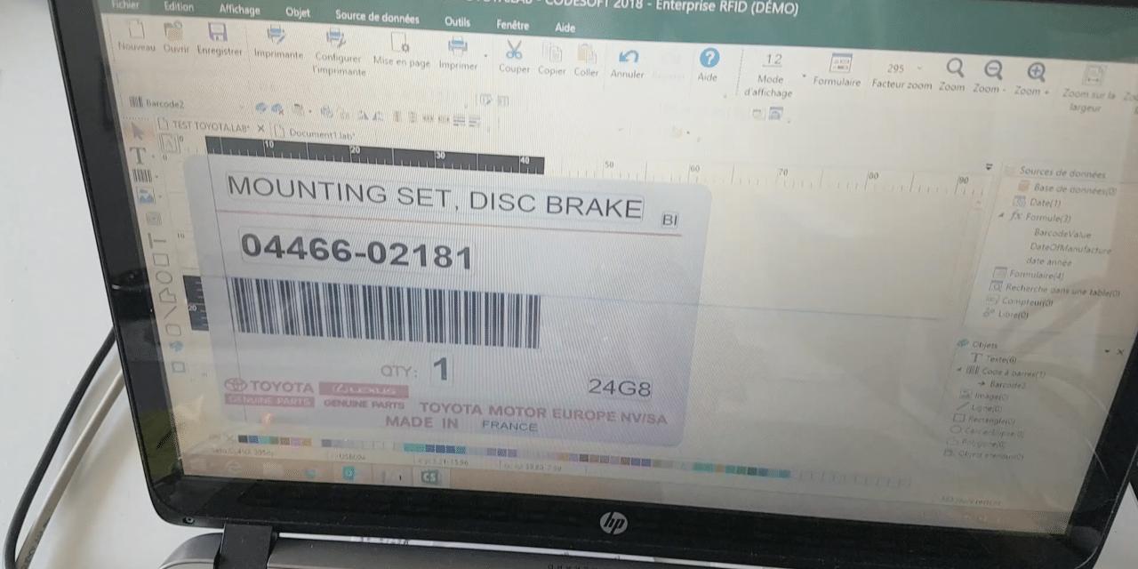 imprimante sato cl4nx démonstration du controle de code-barre