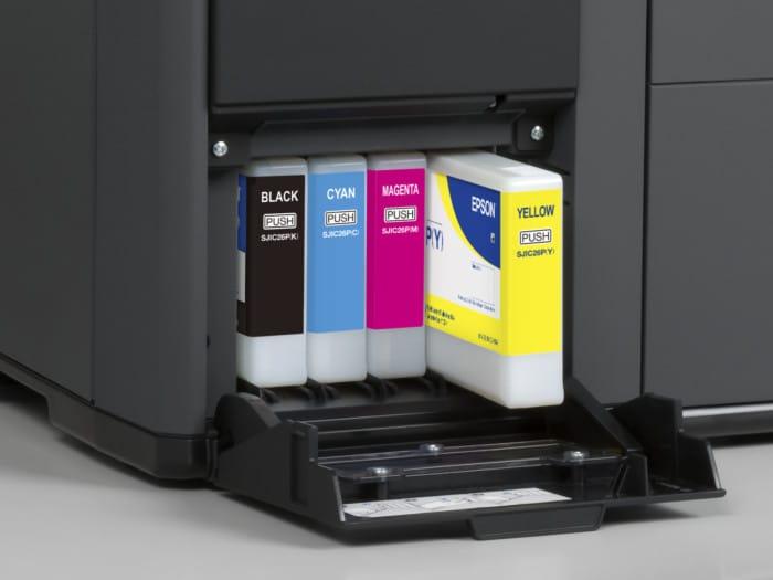 Encres imprimantes étiquettes
